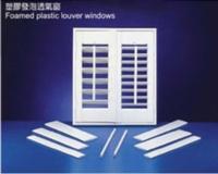 Foamed Plastic Louver Windows