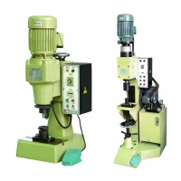 Pneumatic/Hydraulic Riveting Machine