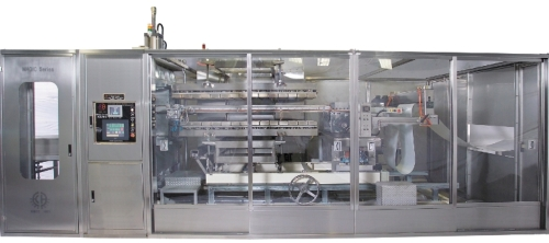 Automatic Pressure Forming Machine With Tool Puncher