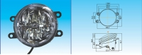 Cens.com LED FOG LAMP Toyota Series ESUSE AUTO PARTS MFG. CO., LTD.