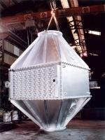 Nitrogen heat exchanger