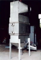 Radiator-type water heater