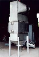 Radiator-type water heater