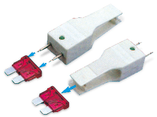 BLADE FUSE PULLER & TESTER With LED