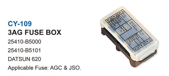JAPANESE CAR FUSE BOX-3AG FUSE BOX