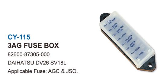 3AG FUSE BOX