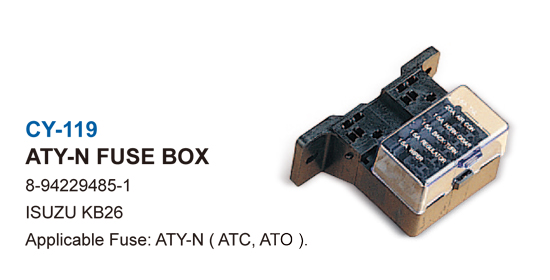 JAPANESE CAR FUSE BOX-ATY-N FUSE BOX
