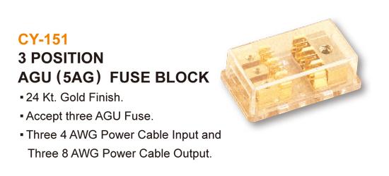 AGU ( 5AG ) FUSE BLOCK