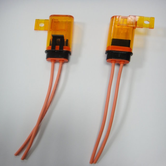Fuse Holder with Tall cap for Mini Circuit BreakerType