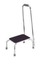 A8000-N STEEL STEP STOOL WITH HANDRAIL