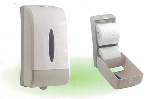 A851 ABS TWO ROLLS TISSUE PAPER DISPENSER