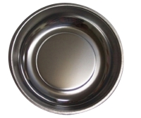 Round SS Magnetic Tray