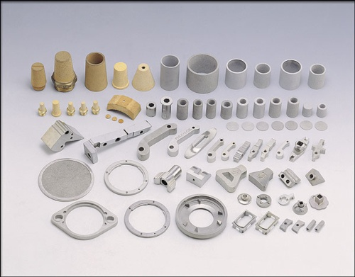 Stainless-steel parts and filter parts