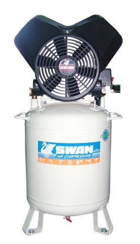Vertical Oil-Less Air Compressor