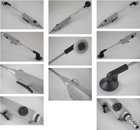 Handy Air Vacuum Suction Lifter & Air Blow Gun (2 in 1,Mark-Free,)