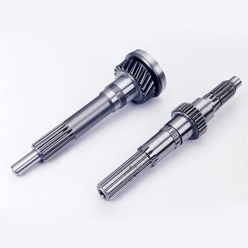 Input gear shafts