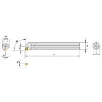 Boring Cutter Bar / Carbide Shank