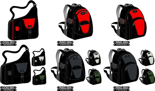 Leisure Bag and Backpack