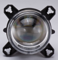 90mm LED投射式远光灯模组, ECE