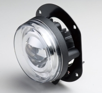 90mm LED projector fog lamp, SAE / ECE