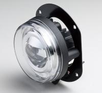 90mm LED projector fog lamp, SAE / ECE