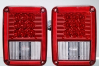 Cens.com Tail light for Jeep Wrangler 2007<br> Red stop /turn signal (LED)/ parking ( LED) light<br>SAE DOT  GIANTLIGHT TRAFFIC SUPPLIES INSTRUMENT CO., LTD.