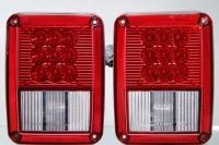 Tail light for Jeep Wrangler 2007 Red stop /turn signal (LED)/ parking ( LED) lightSAE DOT