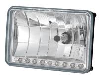 "4x6"" Headlamp with LED ( 465 6 seal beam) DOT"