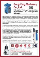 German -CNC Milling heads, extension heads, CNC milling heads,  drilling heads