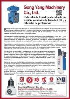 Spanish-Cabezales de fresado, cabezales de extensi