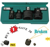 6pcs Impact Adaptor Set