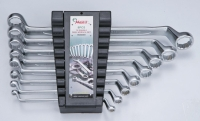 Double Ring Wrench 75° Offset Set