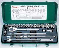 Cens.com 24 Pcs Socket Wrench Set HANS TOOL INDUSTRIAL CO., LTD.