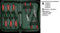 9pcs Precision Screwdriver & Mini Pliers Set