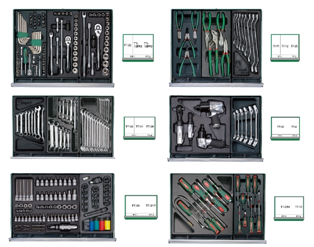 313 Pcs Tool-Trolly Group