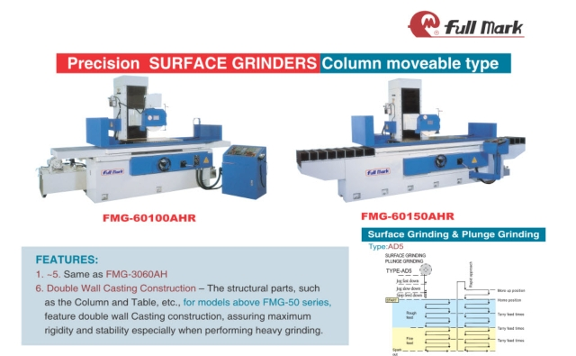 Precision Surface Grinder Column moveable type