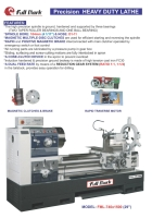 Precision Heavy Duty Lathe