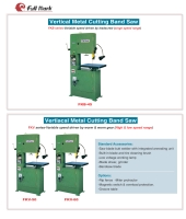 Cens.com Vertical Metal Cutting Bandsaw FULL MARK EQUIPMENT CORP.