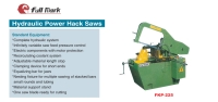 Hydraulic Power Hack Saws