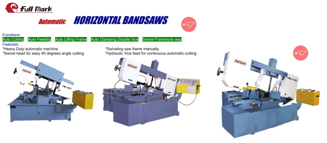 Automatic Horizontal Bandsaw
