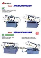 CENS.com Manual Horizontal Bandsaw