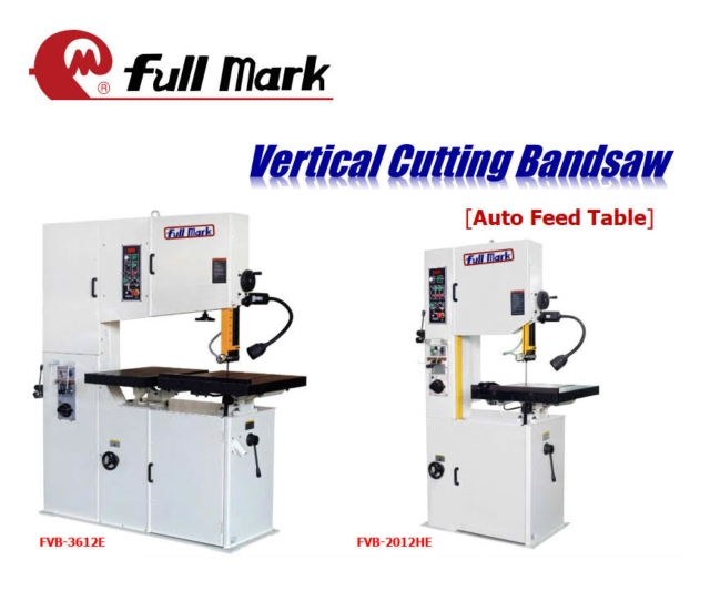 Vertical Cutting Bandsaw[Auto Feed Table]