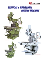 Cens.com Vertical / Horizontal Turret Milling Machine FULL MARK EQUIPMENT CORP.