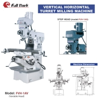 Vertical / Horizontal Turret Milling Machine