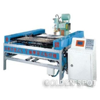 Auto Dual-layer Interchanging And X-Y Axis Moving Pneumatic Spot Welder