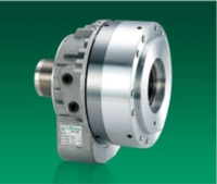 HIGH SPEED AND SHORT THROUGH HOLE ROTARY HYDRAULIC CYLINDER