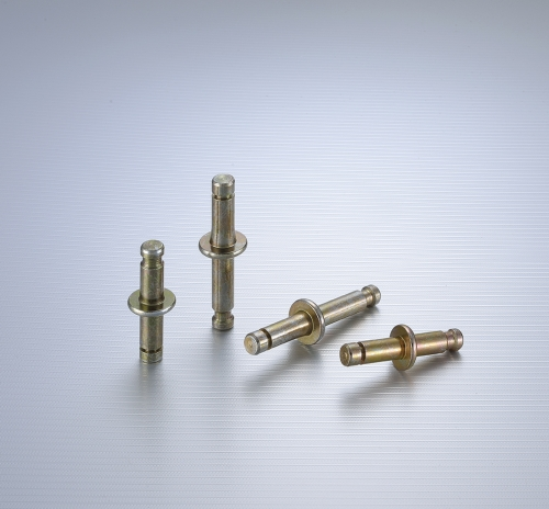 Castors fittings' shaft