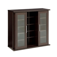 Slide Shelf W/Glass