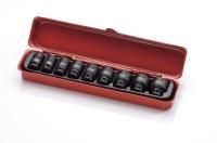 "1/4""Dr. 10pcs Impact Sockets Set CR-MO"