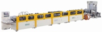 Servo In Line 3-side Sealing /  Stand-up / Zipper Pouch Making Machine